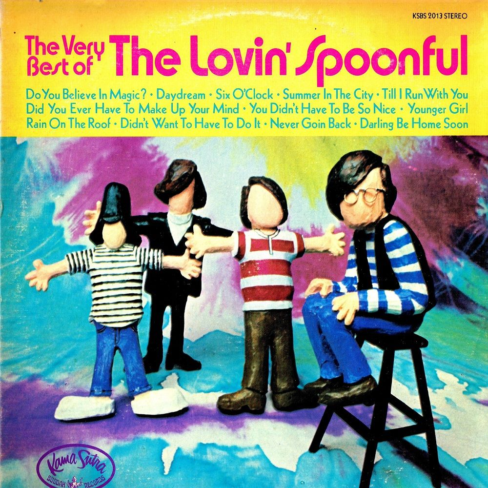Lovin 180 Spoonful The The Very Best Of Lp Ad Vinyl