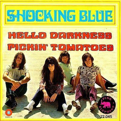Shocking Blue Hello Darkness Single Ad Vinyl