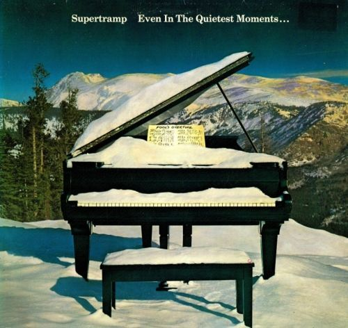Supertramp Even In The Quietest Moments Lp Ad Vinyl