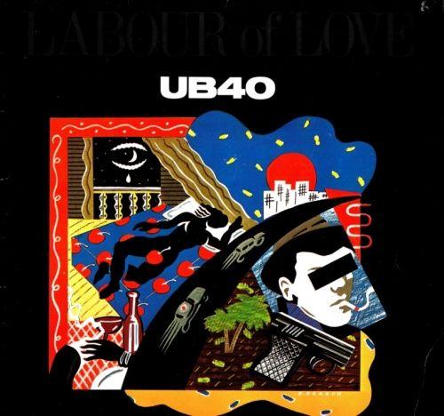 Ub40 Labour Of Love Lp Ad Vinyl