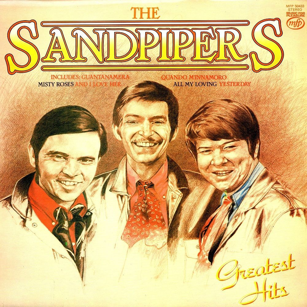 Sandpipers The Greatest Hits Lp Ad Vinyl