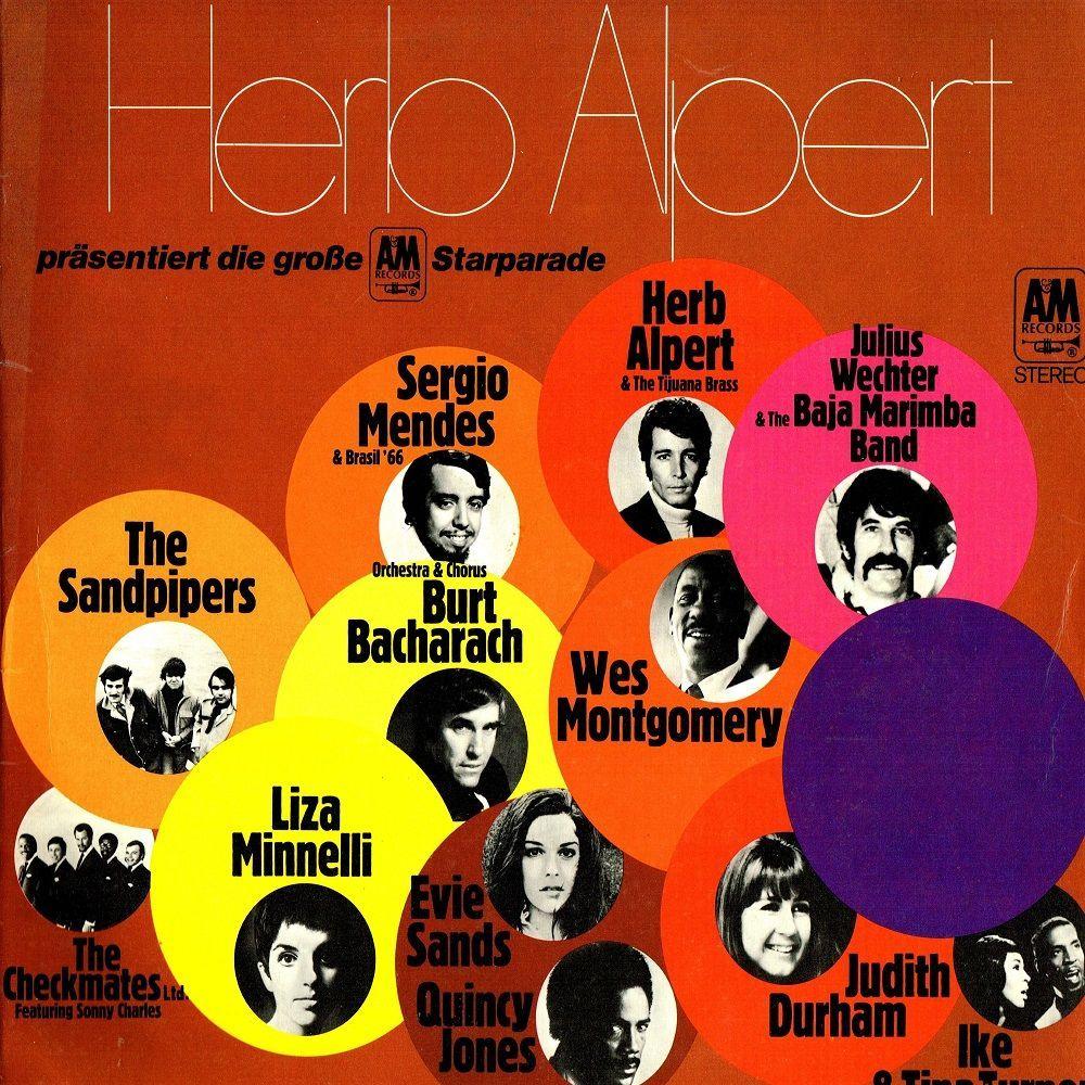 Various Herb Alpert Pr 228 Sentiert Die Gro 223 E A Amp M Starparade