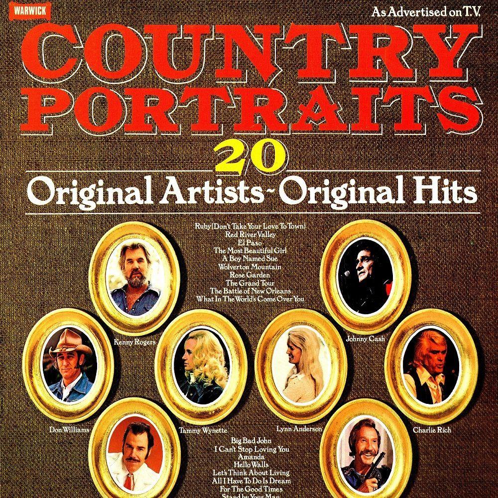 Various - Country Portraits (LP) - Ad Vinyl